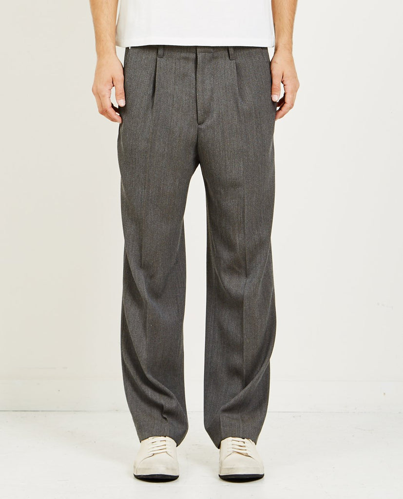 OUR LEGACY-PLEATED TROUSER-Men Pants-{option1]