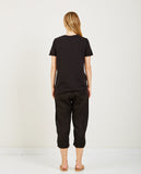 RICHER POORER-Pocket Crew Tee Black-Women Tees + Tanks-{option1]