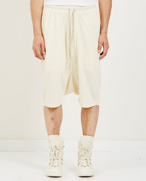 RICK OWENS DRKSHDW PODS SHORT CREAM