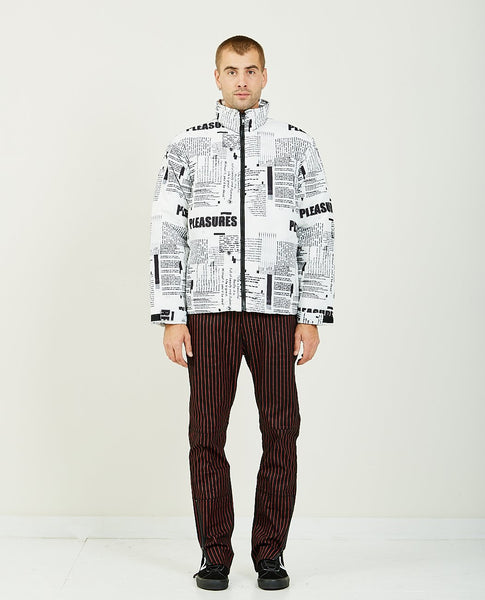 PLEASURES POEMS PUFFER JACKET