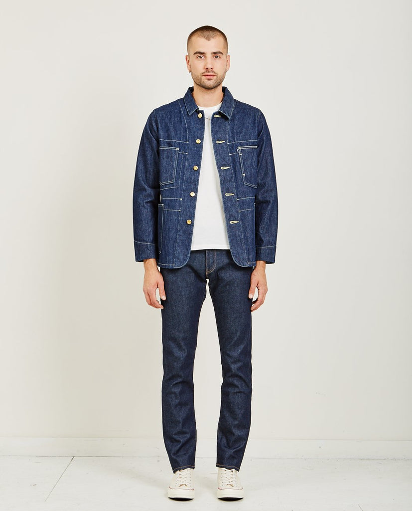 POGGY SACK COAT RINSE-LEVI'S: MADE & CRAFTED-American Rag Cie