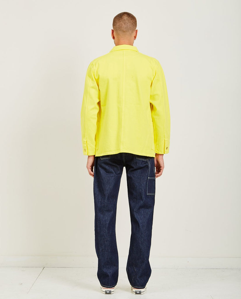 LEVI'S: MADE & CRAFTED-POGGY SACK COAT YELLOW-Men Coats + Jackets-{option1]
