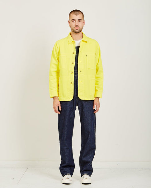 LEVI'S: MADE & CRAFTED POGGY SACK COAT YELLOW