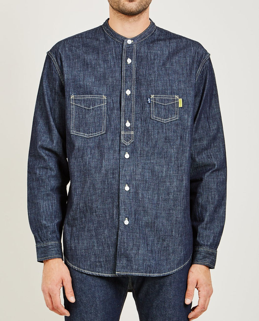 POGGY WORK SHIRT RINSE-LEVI'S: MADE & CRAFTED-American Rag Cie