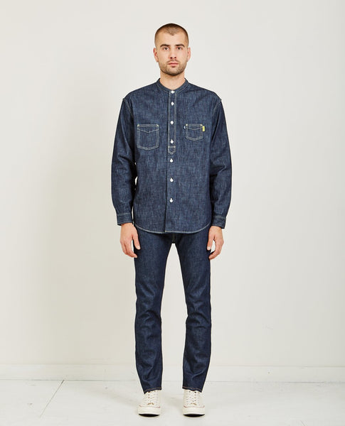 LEVI'S: MADE & CRAFTED POGGY WORK SHIRT RINSE