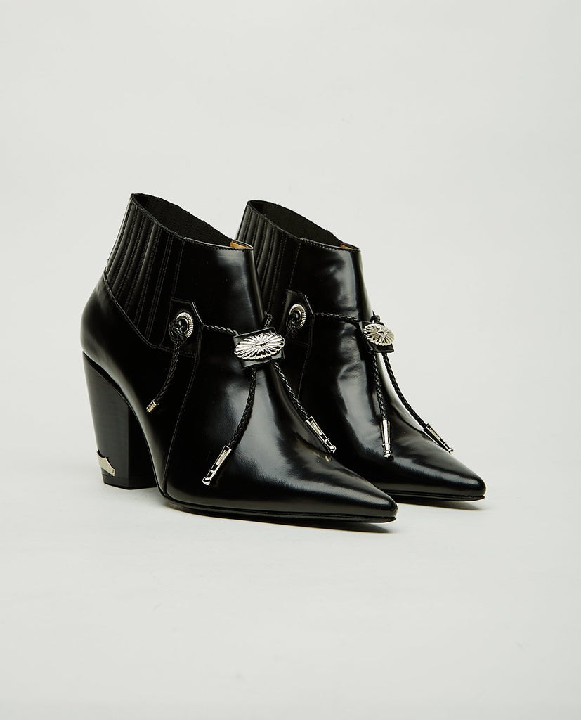 Point Toe Ankle Boots-TOGA PULLA-American Rag Cie
