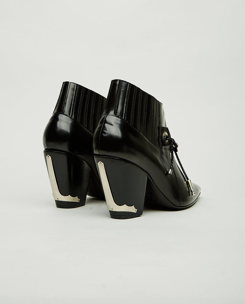 TOGA PULLA-Point Toe Ankle Boots-Women Boots-{option1]