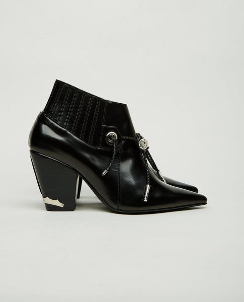 TOGA PULLA Point Toe Ankle Boots