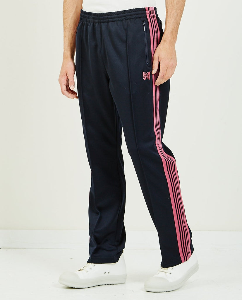 Poly Smooth Narrow Track Pant Navy-NEEDLES-American Rag Cie