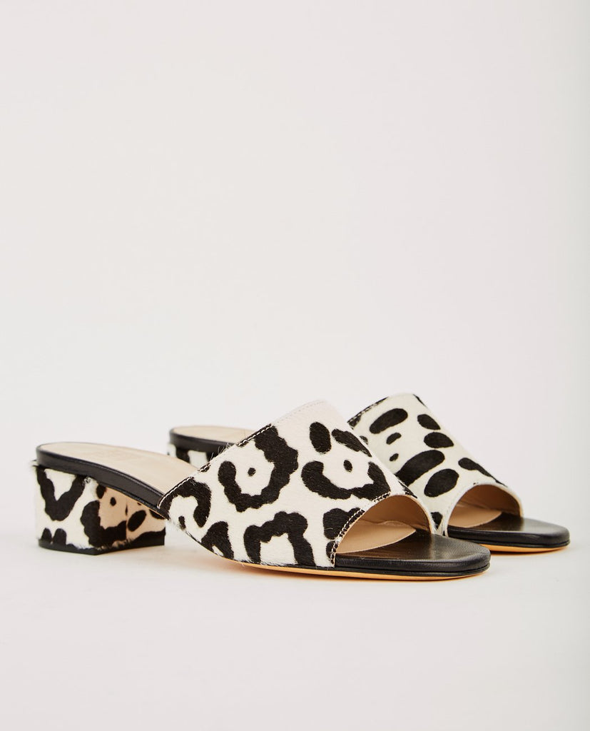 MARYAM NASSIR ZADEH-PONY HAIR SLIDE HEEL-Women Sandals-{option1]