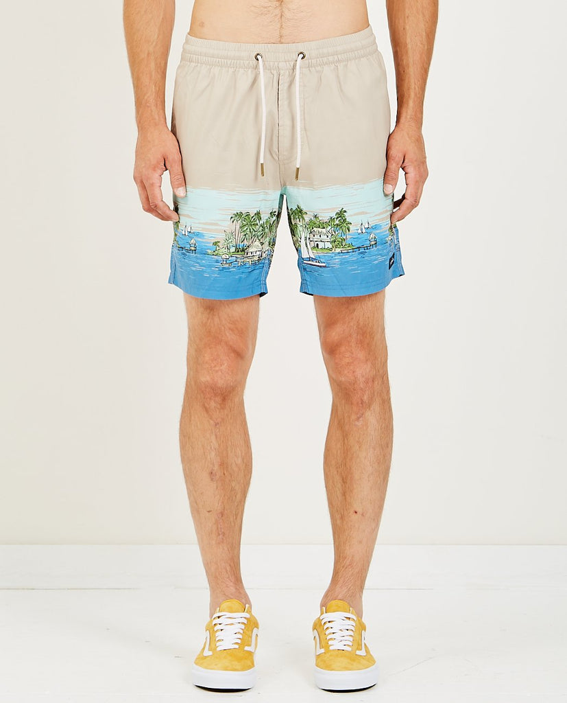 "BARNEY COOLS POOLSIDE 17"" SHORT VACATION"
