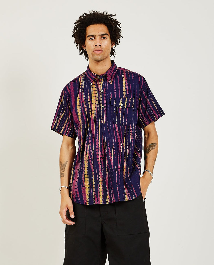 Popover Button Down Shirt Tie Dye-ENGINEERED GARMENTS-American Rag Cie