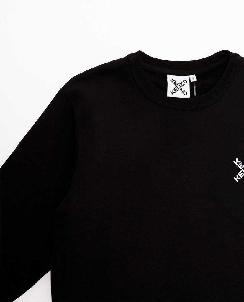 KENZO-Print Logo Sweatshirt-Women Sweaters + Sweatshirts-{option1]