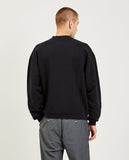 DROLE DE MONSIEUR-Printed Collar Sweatshirt-Men Sweaters + Sweatshirts-{option1]
