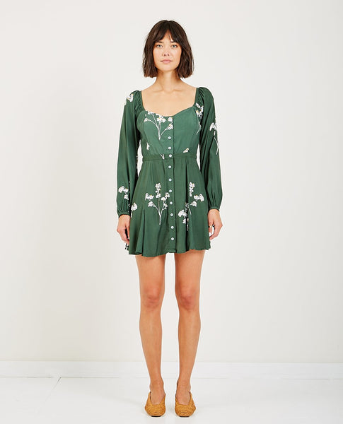 RUE STIIC PRISCILLA MINI DRESS BLOSSOM