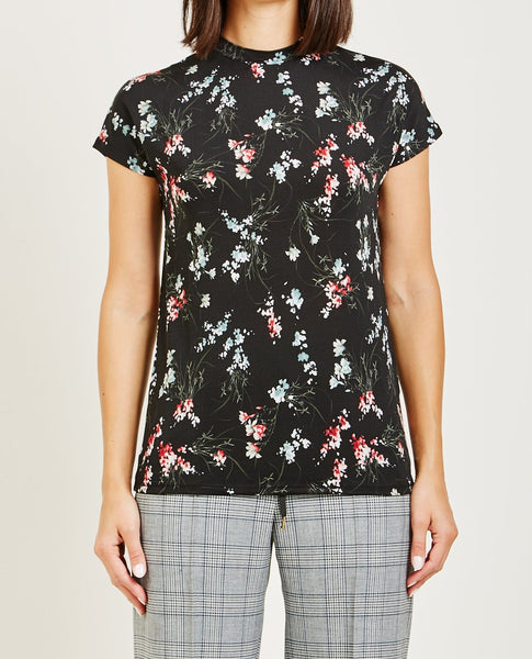 WON HUNDRED PROOF FLORAL PRINT TEE
