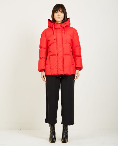 JUST FEMALE PUFFY COAT