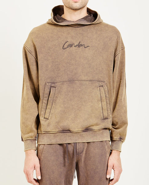 CANDOR Pullover Hoodie Charcoal