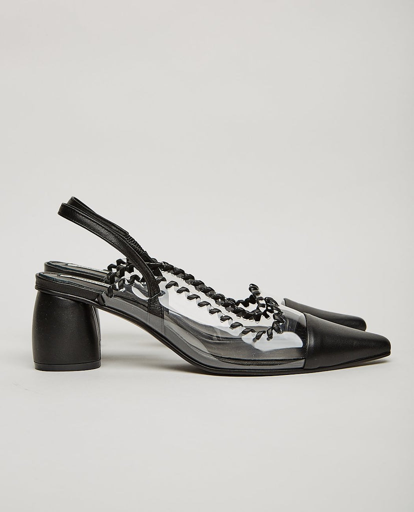 PVC CURVED MIDDLE SLINGBACK-REIKE NEN-American Rag Cie