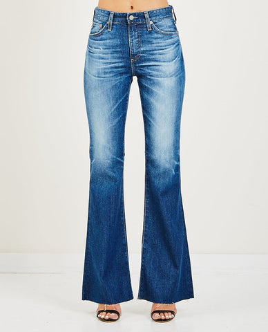 AG JEANS JODI CROP TWIGGY STRIPE FRESH SAND