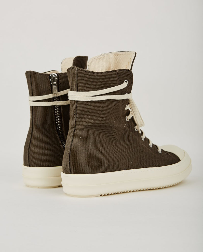 RICK OWENS DRKSHDW-RAMONE HIGH TOP SNEAKER-Men Sneakers + Trainers-{option1]