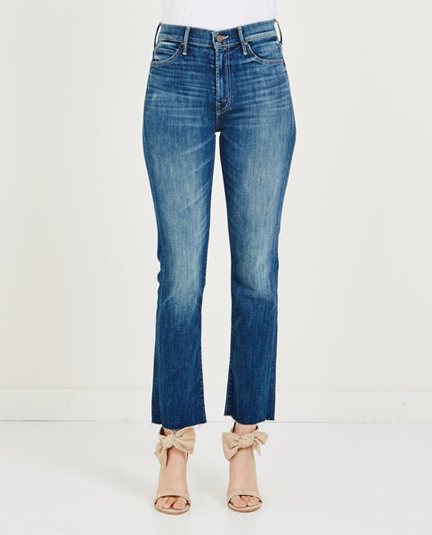MOTHER RASCAL ANKLE FRAY HIGH WAISTED JEAN
