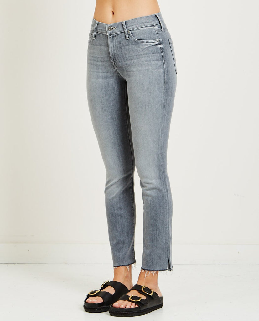 MOTHER-RASCAL ANKLE SNIPPET JEAN MAKIN' THE GRADE-Women Straight-{option1]