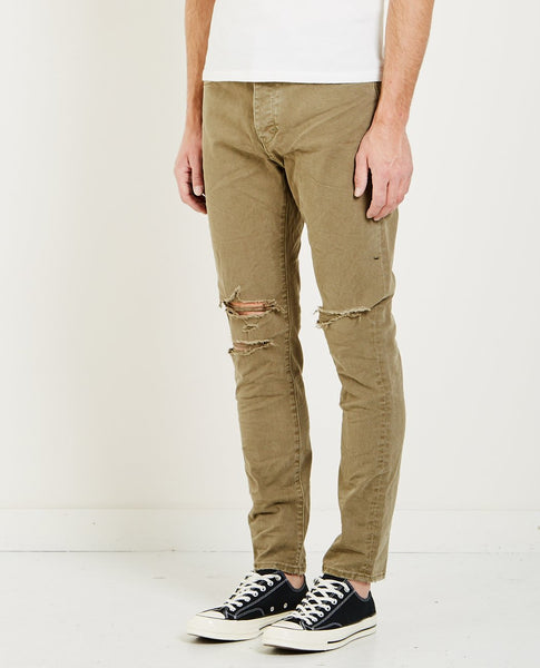 NEUW RAY TAPERED JEAN BUSTED MILITARY