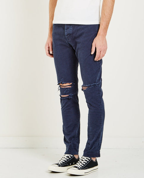 NEUW RAY TAPERED JEAN BUSTED NAVY
