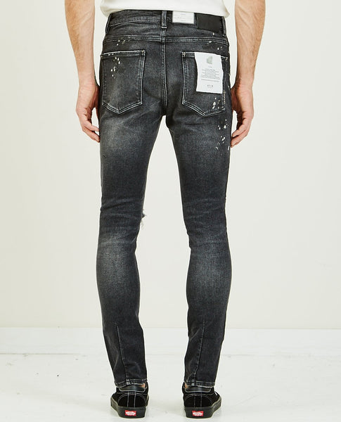 NEUW REBEL SKINNY  ART BLACK