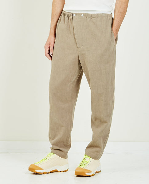 SK MANOR HILL Rem Pant Taupe Ramie