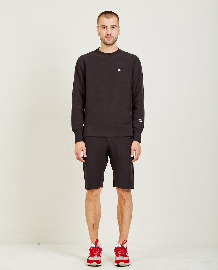CHAMPION-REVERSE WEAVE SWEATSHIRT-Men Sweaters + Sweatshirts-{option1]