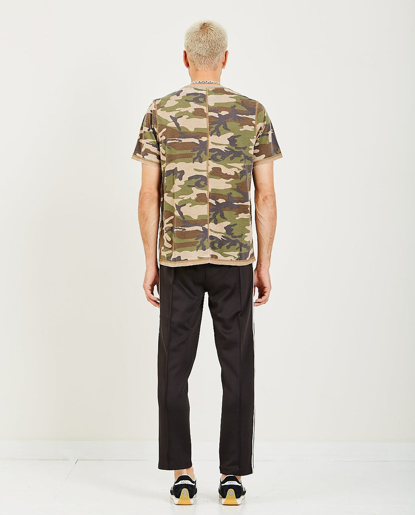OVADIA & SONS-Reversed Burnout Tee-Men Tees + Tanks-{option1]