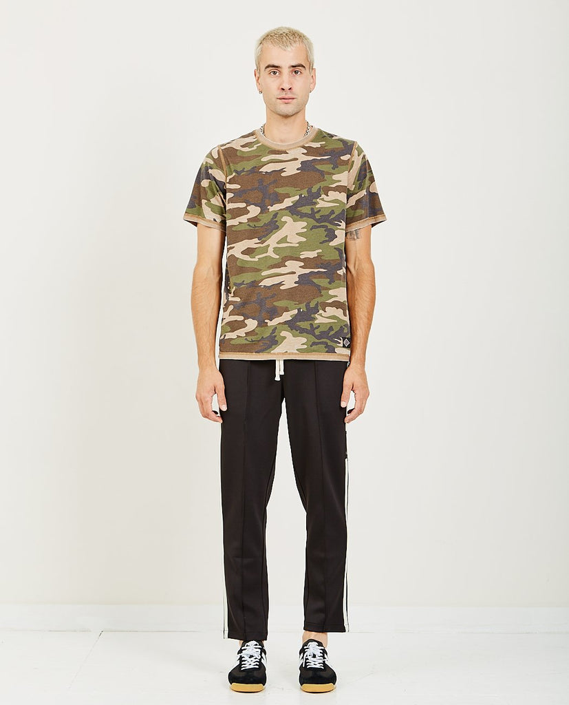 OVADIA & SONS REVERSED BURNOUT TEE