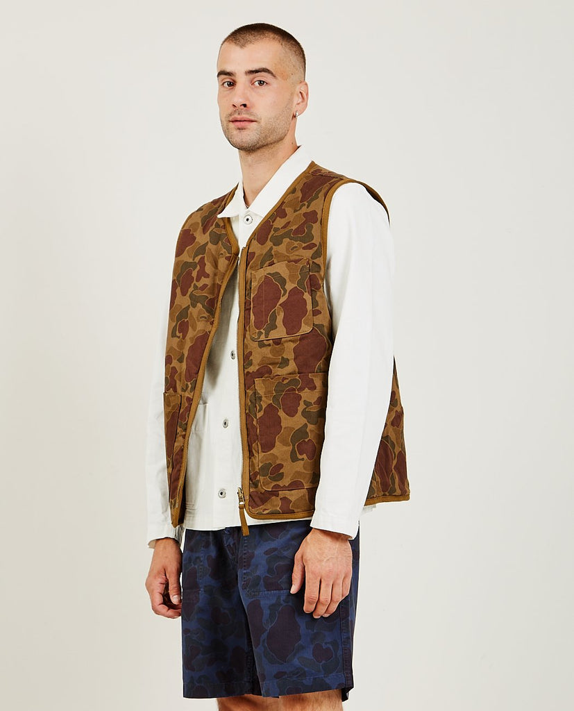 ALEX MILL-Reversible Camo Vest-Men Coats + Jackets-{option1]