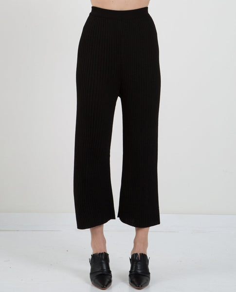 MIJEONG PARK RIBBED KNIT PANTS