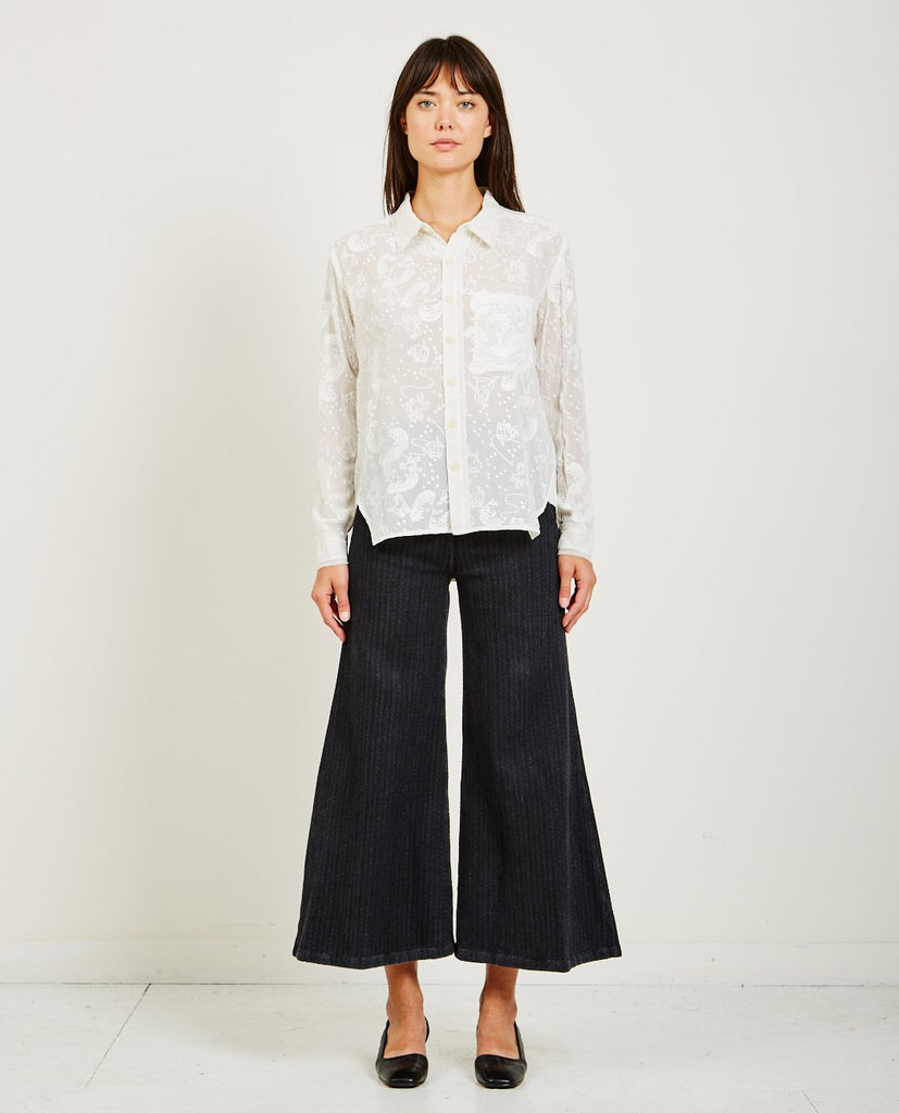 RACHEL COMEY-RIDER ZODIAC SHIRT-Blouses-{option1]