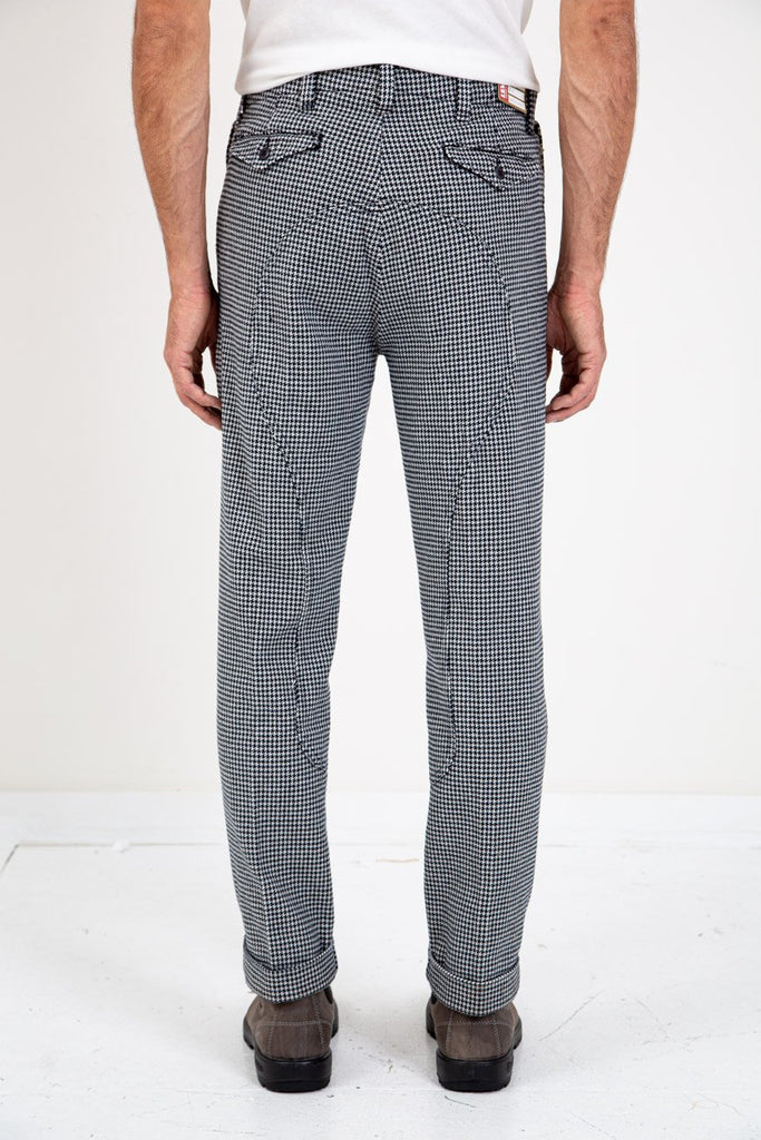 Riders Pants Dogtooth-LEVI'S VINTAGE CLOTHING-American Rag Cie