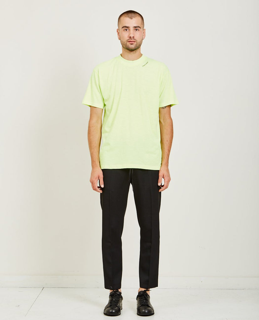 CMMN SWDN RIDLEY RIBBED HIGH NECK TEE