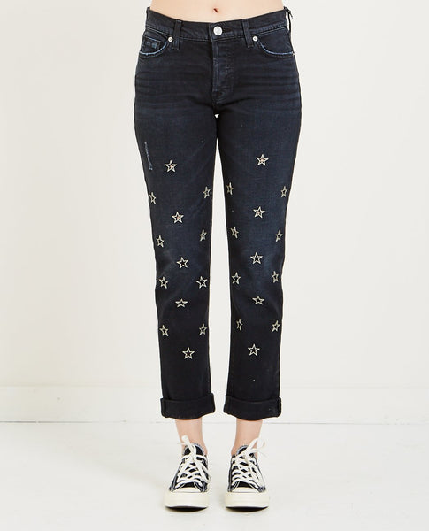 HUDSON RILEY CROP RELAXED STRAIGHT JEAN
