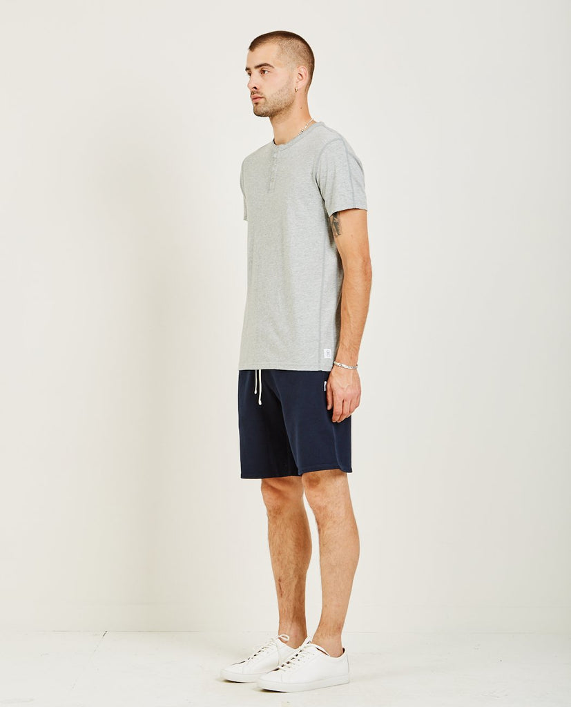 RINGSPUN JERSEY SHORT SLEEVE HENLEY TEE-REIGNING CHAMP-American Rag Cie