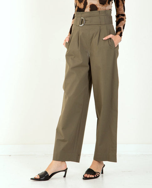 GANNI Ripstop Cotton Pant