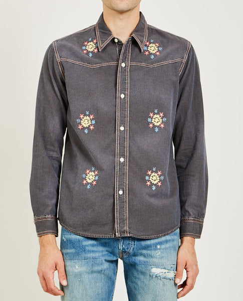 LEVI'S VINTAGE CLOTHING ROCKERS CHAMBRAY