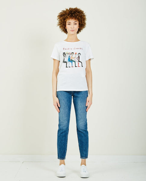 UNFORTUNATE PORTRAIT ROCK'N CHAIRS TEE
