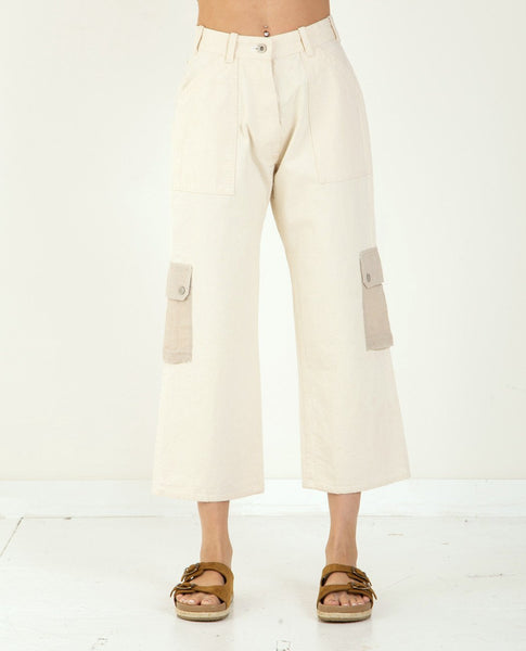 W'MENSWEAR Rockpool Pant Off White