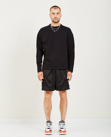 WINGS+HORNS UTILITY COTTON CARGO SHORT