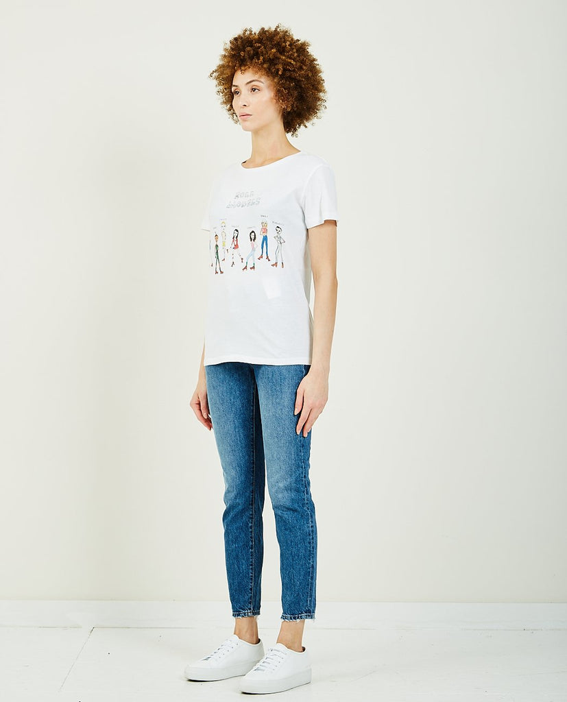 Roll Models Tee-UNFORTUNATE PORTRAIT-American Rag Cie