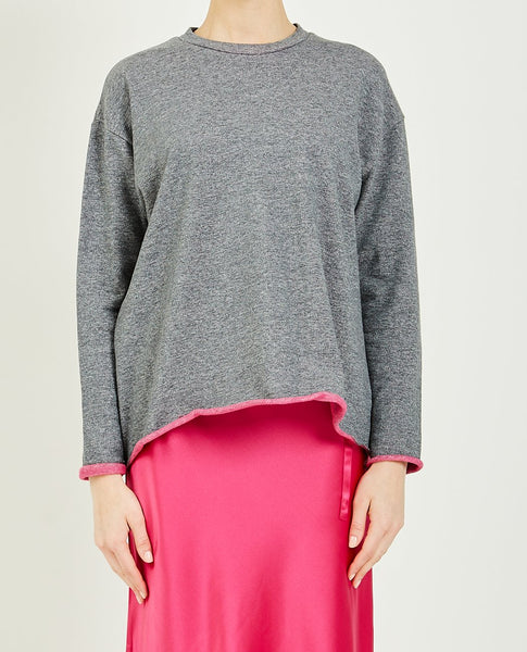 6397 ROLLED SWEATSHIRT