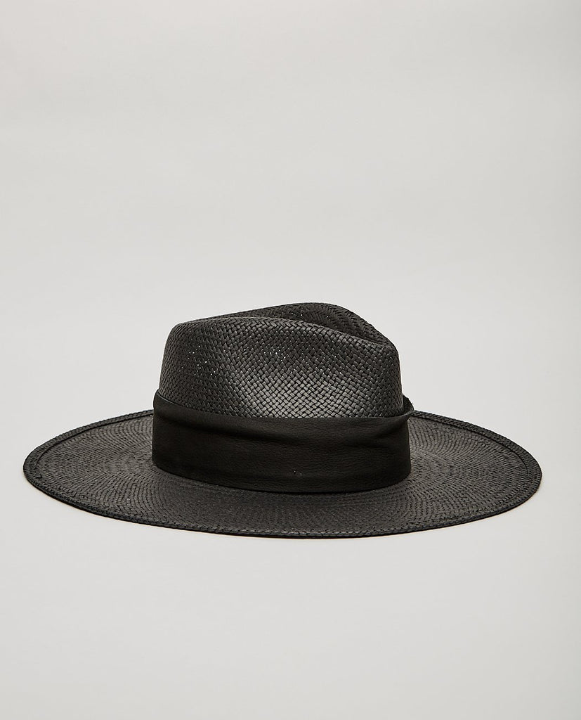 JANESSA LEONE ROSE PACKABLE FEDORA