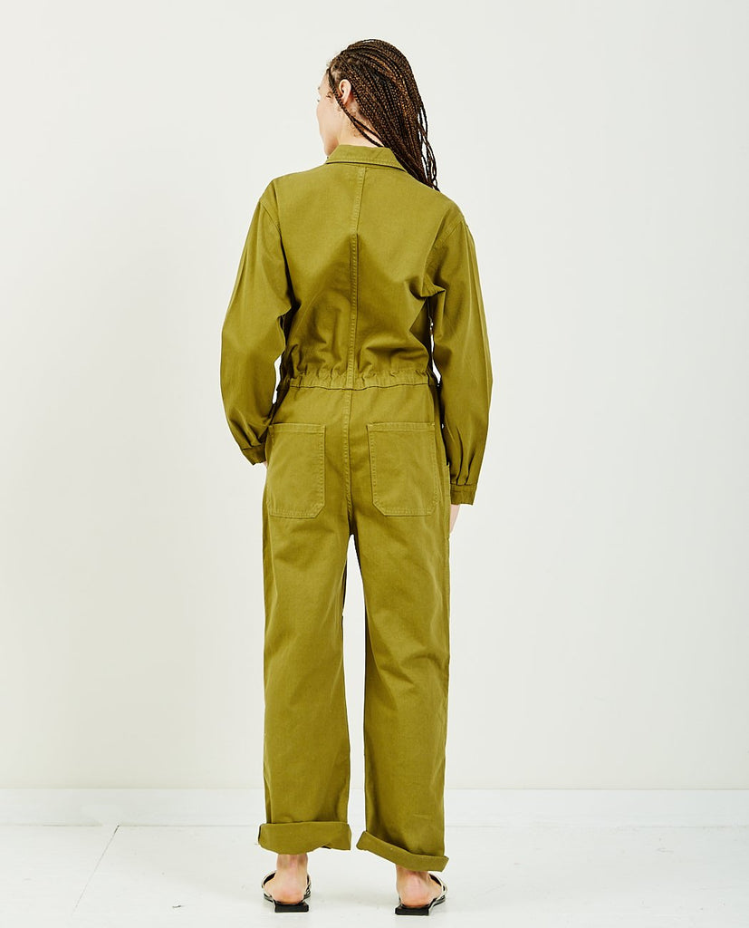 OVERLOVER-Rose Twill Jumpsuit-All-In-One-{option1]